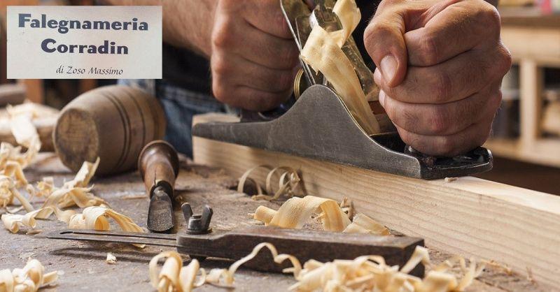 Falegnameria Corradin offerta realizzazione porte su misura - Promozione servizio falegnameria