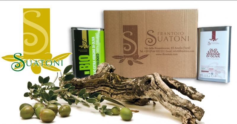 EL FRANTOIO DI SUATONI salg af økologisk olivenolie fra Umbría produceret i Italien