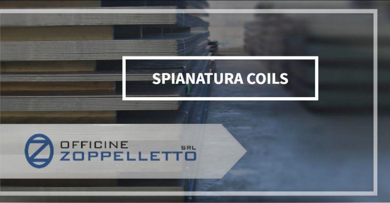 Offerta  Servizio specialistico di Spianatura coils - Occasione Lavorazione Spinatura Lamiere