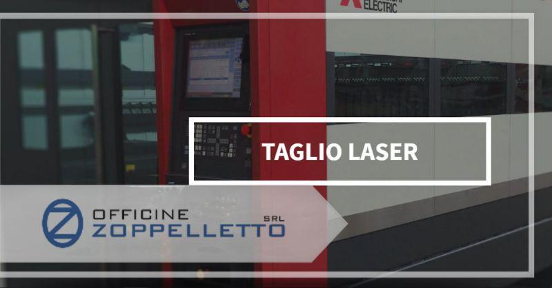 Offerta TAGLI LASER professionali su lamiere - Servizio di taglio a Laser su acciaio inox