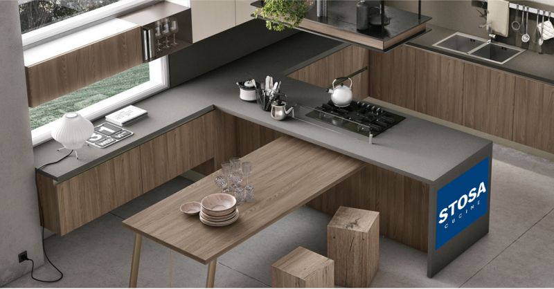 Offerta vendita cucine moderne Stosa Torino - Promozione distribuzione cucine moderne Stosa