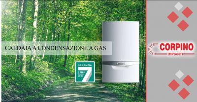 corpino offerta vendita installazione caldaia condensazione gas fujitsu vaillant