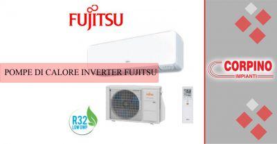 corpino impianti offerta vendita e installazione pompe di calore inverter fujitsu