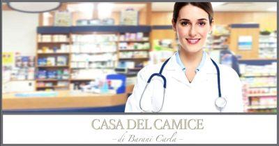 offerta vendita camici per farmacisti occasione acquisto abbigliamento per farmacia piacenza