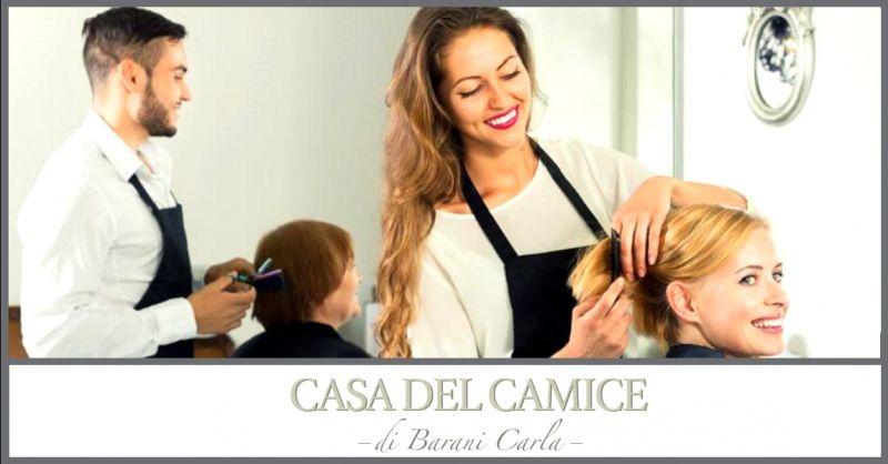CASA DEL CAMICE - offerta acquisto abbigliamento professionale per parrucchieri Piacenza