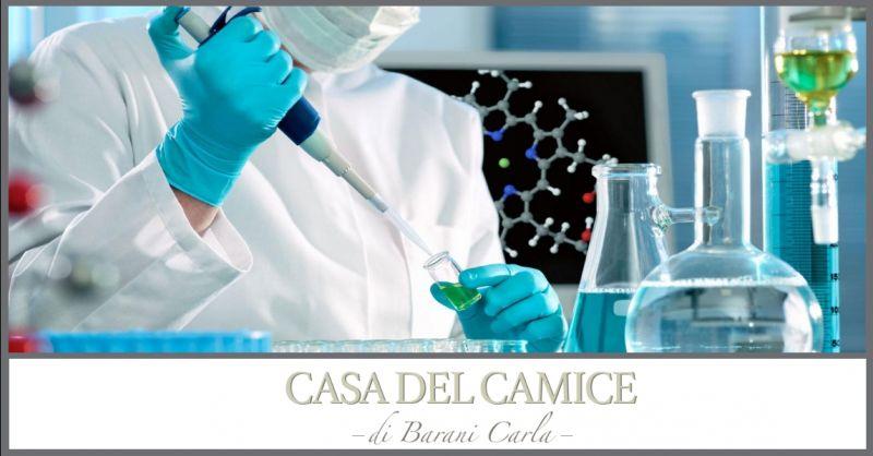CASA DEL CAMICE - offerta vendita camici professionali da laboratorio Piacenza