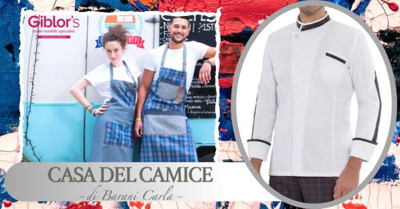 Offerta uniformi per baristi su misura Piacenza - occasione vendita divise da bar fashion