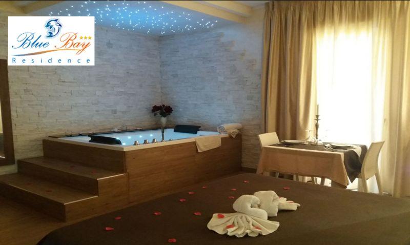 Offerta soggiorno suite taranto - promozione apericena e cena blue bay residence spa inclusa