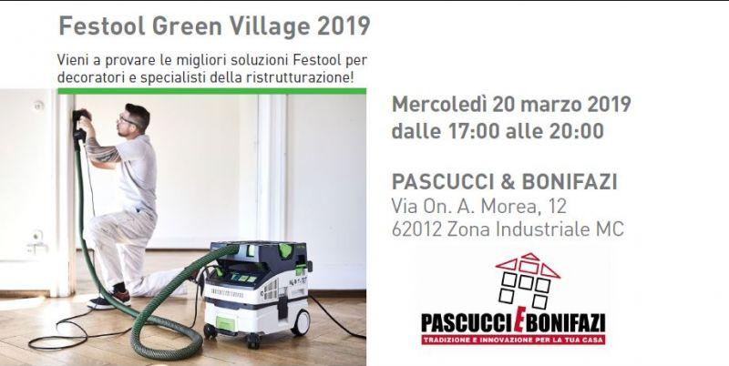 Pascucci e Bonifazi offerta materiali Festool - promozione Festool day Mc