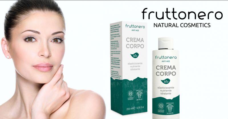 Fruttonero offerta Crema Corpo Anti Age - occasione crema corpo bio nutriente elasticizzante