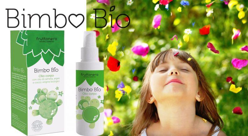 Fruttonero offerta Olio Corpo Bimbo Bio - occasione prodotti certificati  bio per bambini