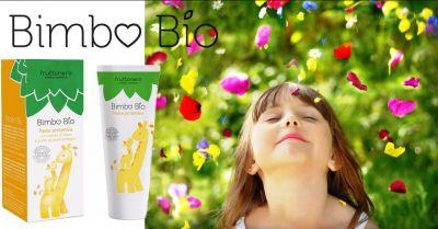 fruttonero offerta pasta protettiva bimbo con zinco occasione cura della pelle di neonati bio