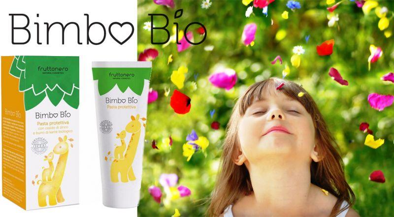 Fruttonero offerta Pasta Protettiva Bimbo con zinco - occasione cura della pelle di neonati bio