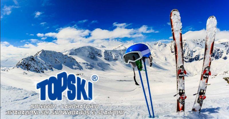 offerta noleggio sci per stagione invernale ad Ascoli - occasione riparazioni sci ad Ascoli