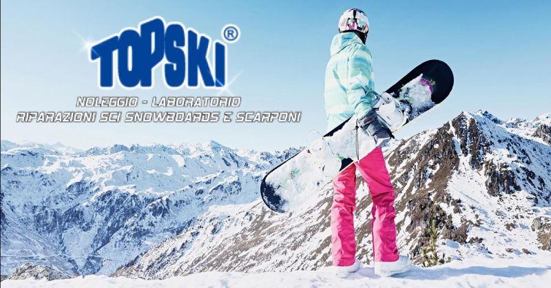 offerta assistenza sci e snowboard Ascoli - occasione interventi su attrezzatura da sci Ascoli