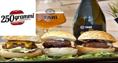 250 grammi hamburgheria offerta panini e bevande occasione menu nuovo catania