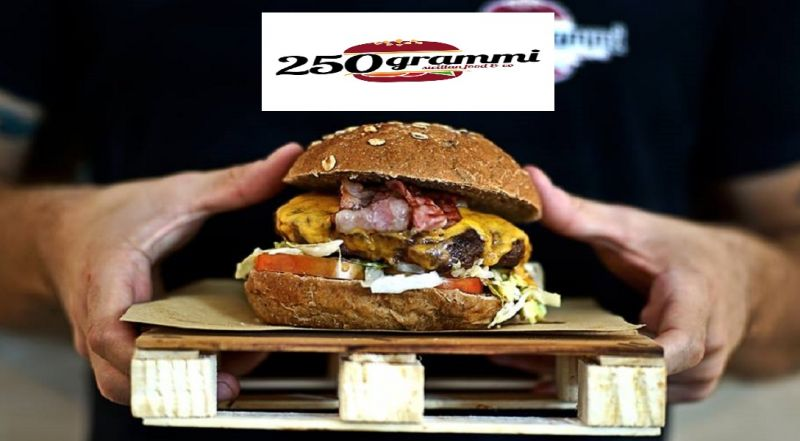 250 Grammi offerta hamburgheria - occasione hamburger Catania