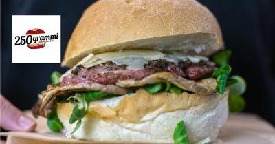 250 grammi offerta hamburger occasione panineria giarre