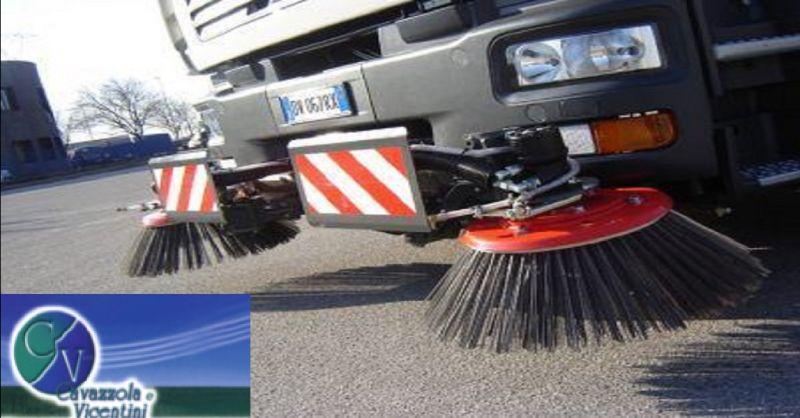 offerta servizio spazzamento aree pubbliche e private - occasione lavaggio e spazzamento strade