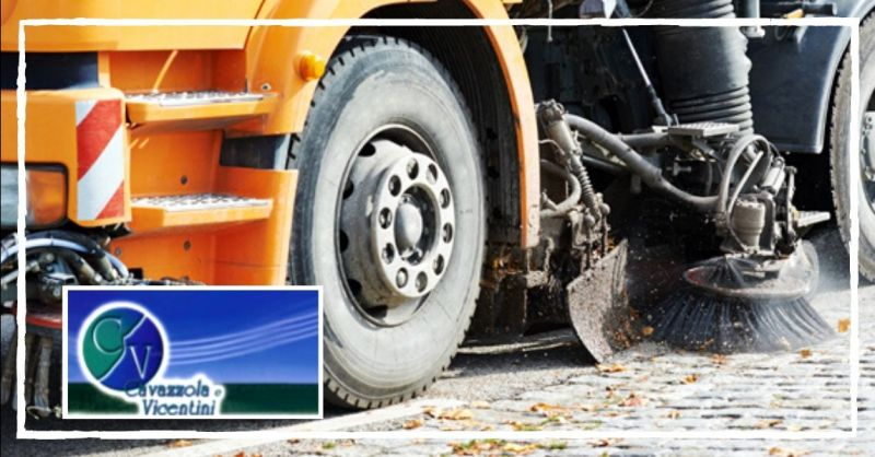 Occasione servizio di spazzamento e lavaggio strade pubbliche e private Verona Vicenza