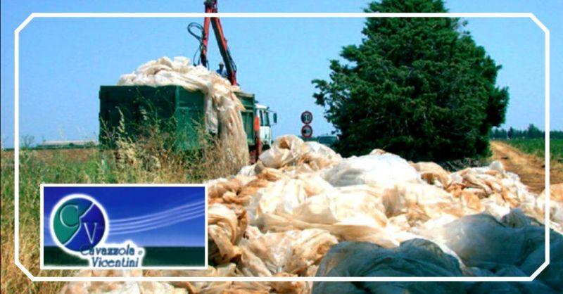 Offerta ritiro imballaggi agricoli Vicenza - occasione smaltimento rifiuti per aziende agricole