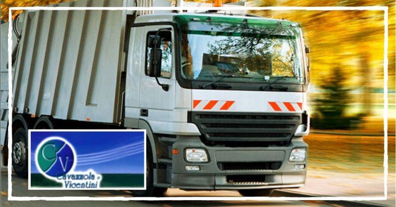 CAVAZZOLA E VICENTINI - Occasione servizio di trasporto rifiuti per conto terzi Verona Vicenza