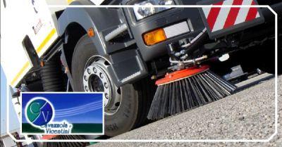 promozione spazzamento aree pubbliche e private verona offerta pulizia rete fognaria vicenza