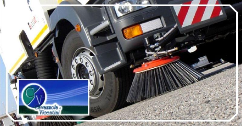 Promozione spazzamento aree pubbliche e private Verona - offerta pulizia rete fognaria Vicenza