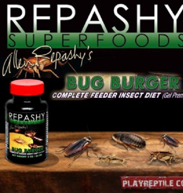 offerta REPASHY BUG BURGER  Mangime completo per insetti da pasto