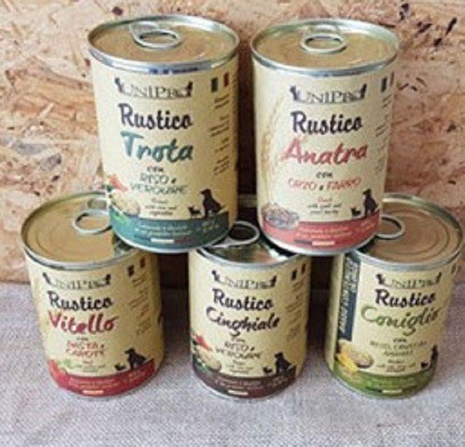promozione  UNIPRO RUSTICO 400 GR Alimento umido per cani a molfetta a bari