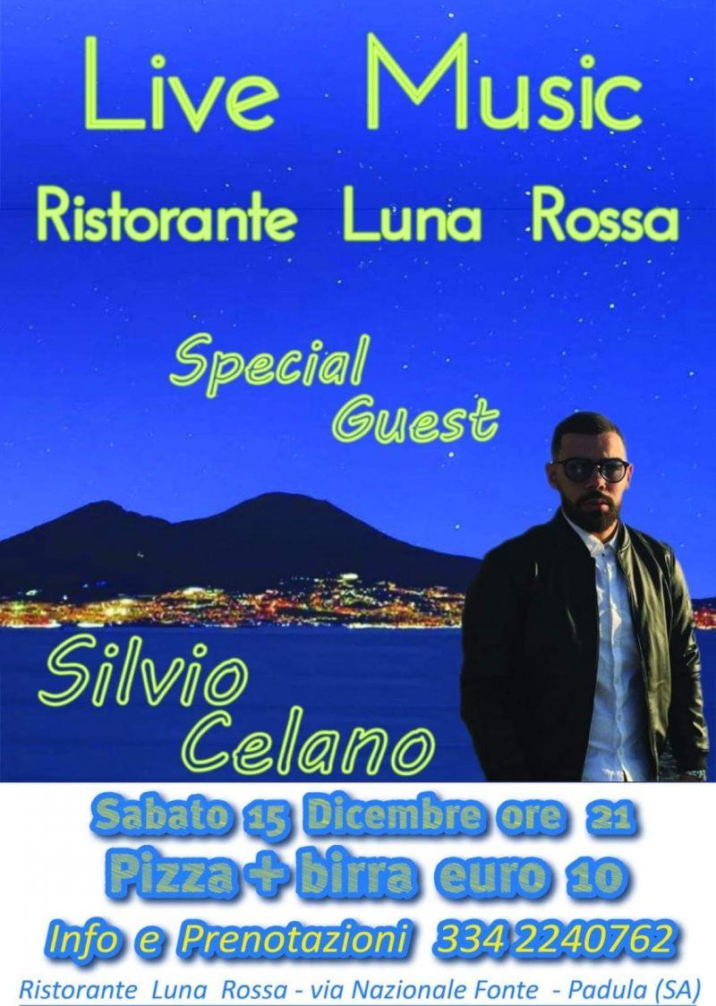 Trattoria Pizzeria Luna Rossa - live music con Silvio Celano
