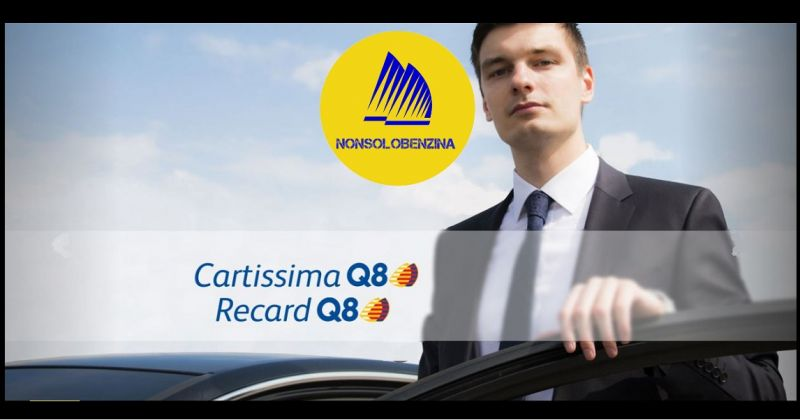 NonSoloBenzina - Offerta soluzioni carte carburanti aziendali Gift card Ticket Fuel Q8