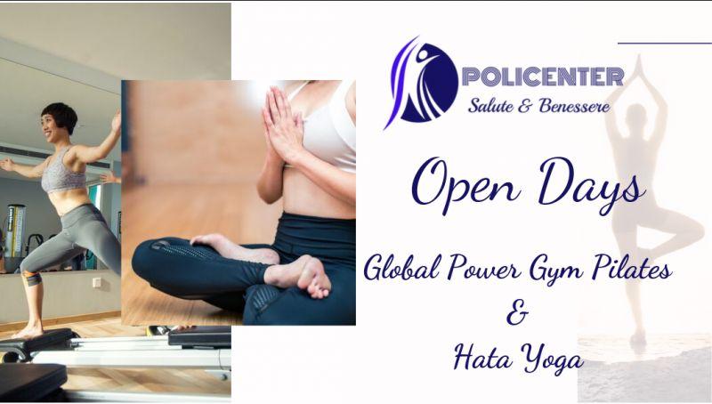 Policenter offerta corso pilates bari - promozione corso hata yoga bari