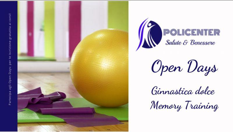 Policenter offerta ginnastica dolce bari - promozione corso ginnastica memory training bari