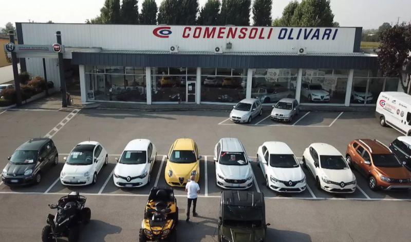 COMENSOLI OLIVARI offerta concessionario autoveicoli san paolo - promozione quad usati