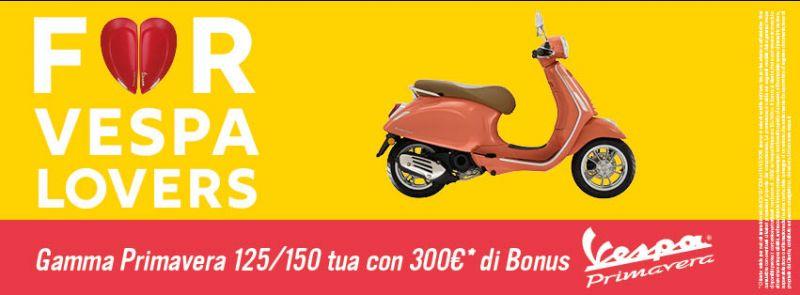 Promo ed Offerte VESPA Scooter Quattrone Motori Ventimiglia