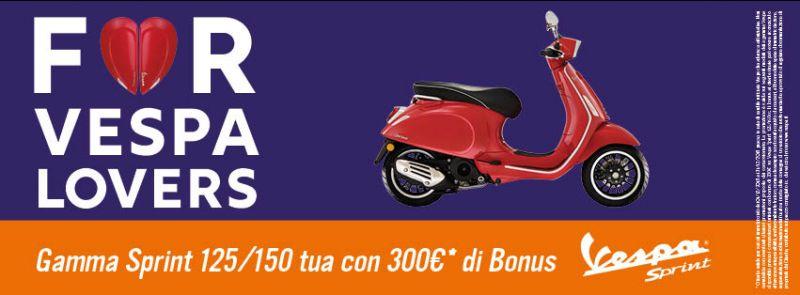 Offerta Vespa Sprint Bonus di 300 ? Quattrone Motori Ventimiglia