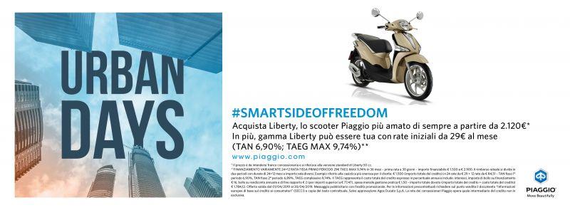 Offerta aprile Piaggio Liberty QUATTRONE MOTORI Ventimiglia