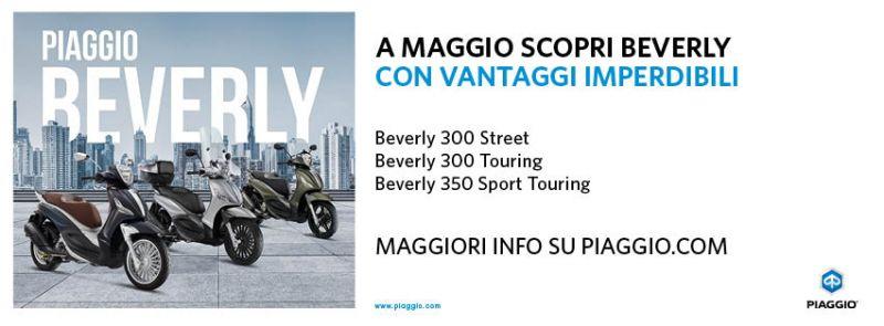 Offerta Piaggio Beverly a Ventimiglia - Promozione Quattrone Motori Ventimiglia