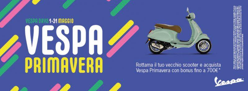 Offerta Vespa Primavera a Ventimiglia - Promozione Quattrone Motori Ventimiglia