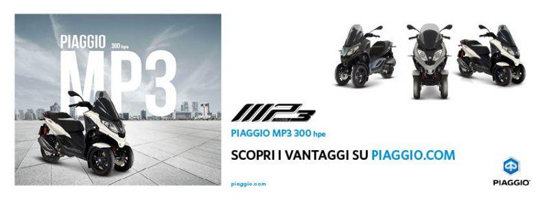 Offerta Piaggio MP3 300 hpe a Ventimiglia - Promozione Quattrone Motori Ventimiglia