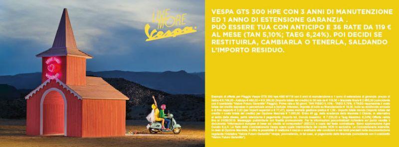 Offerta Vespa GTS 300 hpe a Ventimiglia - Promozione Quattrone Motori Ventimiglia
