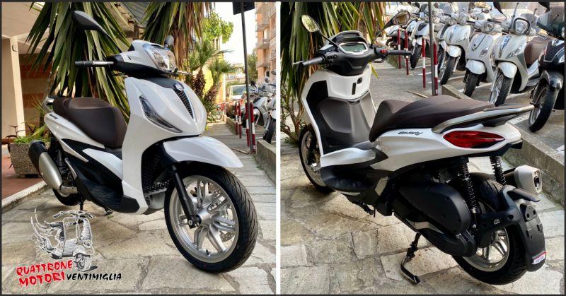 quattrone motori offerta nuovo piaggio new beverly 300 - occasione new beverly 300 imperia