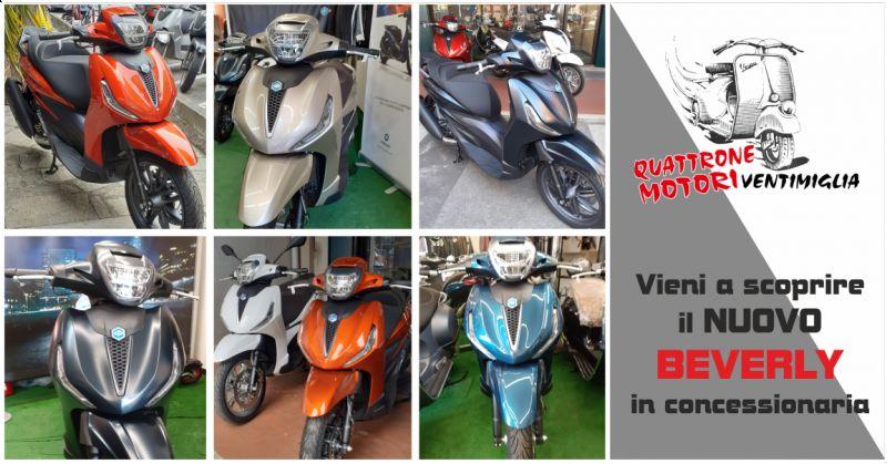 offerta concessionaria vendita new beverly piaggio ventimiglia - occasione vendita scooter beverly imperia
