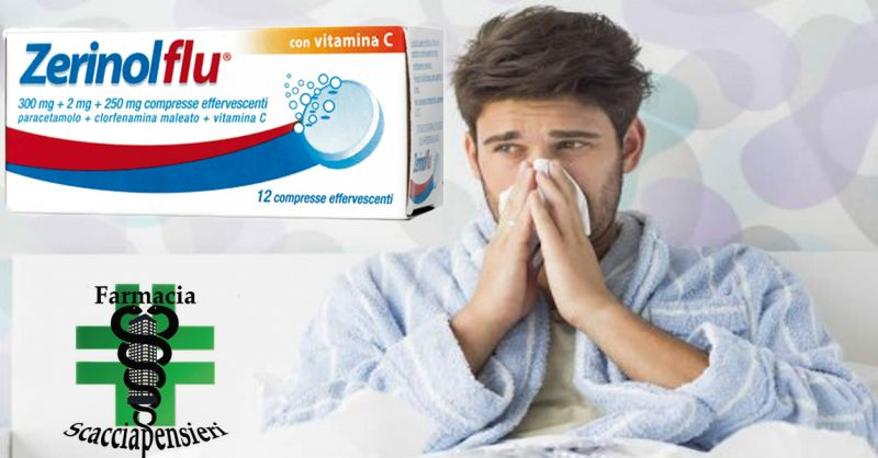 offerta farmacia nettuno rimedi RAFFREDDORE ZERINOLFLU - occasione ZERINOL ANTIINFLUENZALI