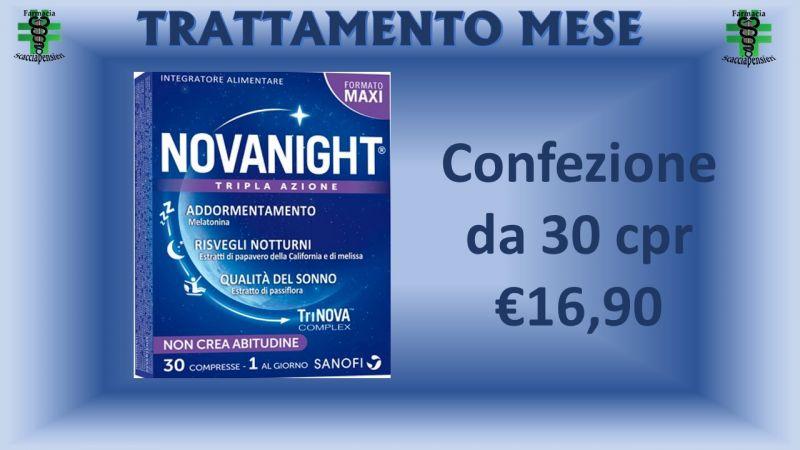 Offerta Novanight 30 cpr