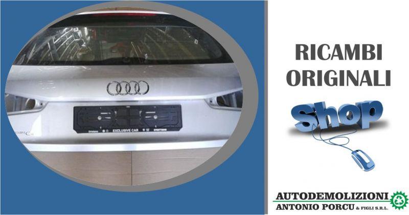 AUTODEMOLIZIONI PORCU - offerta portellone posteriore usato originale Audi Q3 serie 2011 2015