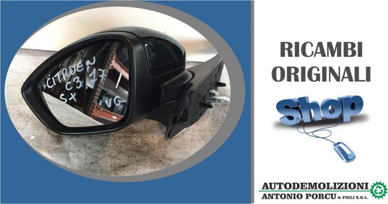 ANTONIO PORCU E FIGLI - offerta specchietto retrovisore elettrico sinistro originale Citroen c3