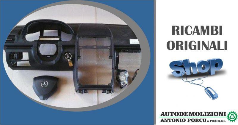 ANTONIO PORCU E FIGLI - offerta kit air bag completo usato originale Mercedes Benz classe A