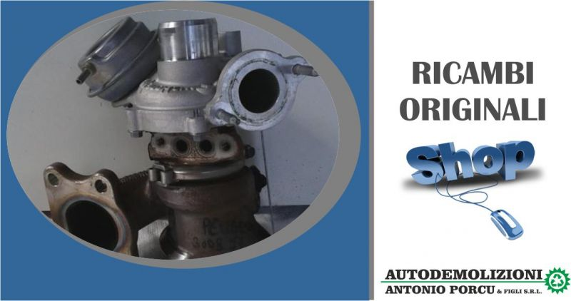 ANTONIO PORCU E FIGLI - offerta Turbocompressore turbina Peugeot 3008 puretech turbo